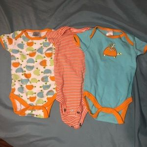 3 • 3-6 month onesies